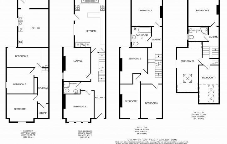 4PS Floor Plan